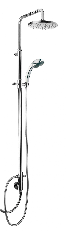 картинка Душевой комплект Webert Comfort AC0729 Хром, верхний душ из металла