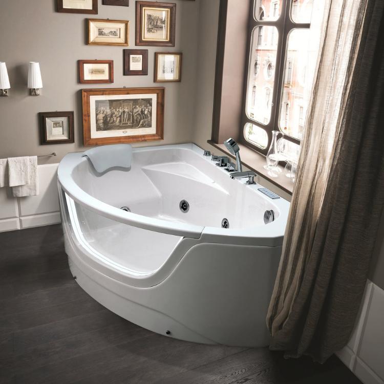 Фото Акриловая ванна Black&White Galaxy GB5008 160 X 100 Левая